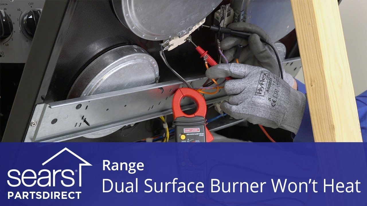 Range Dual Ring Radiant Surface Element Not Working