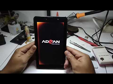 CARA FLASH TAB ADVAN T2K MENGALAMI BOOTLOOP.