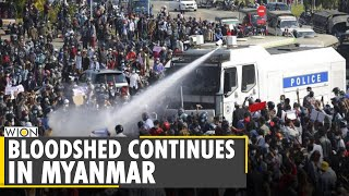 Myanmar Coup: Yangon industrial suburb witness anti-China protests | Latest World English  Bulletin