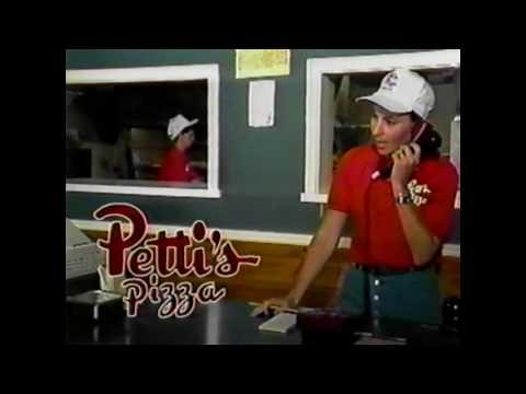 Pettis Pizza commercial Ohio 1997