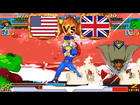 Marvel vs Capcom - -DC (USA) vs (GBR) MindBlown [mvsc] [Fightcade] マーベルvsカプコン - 동영상