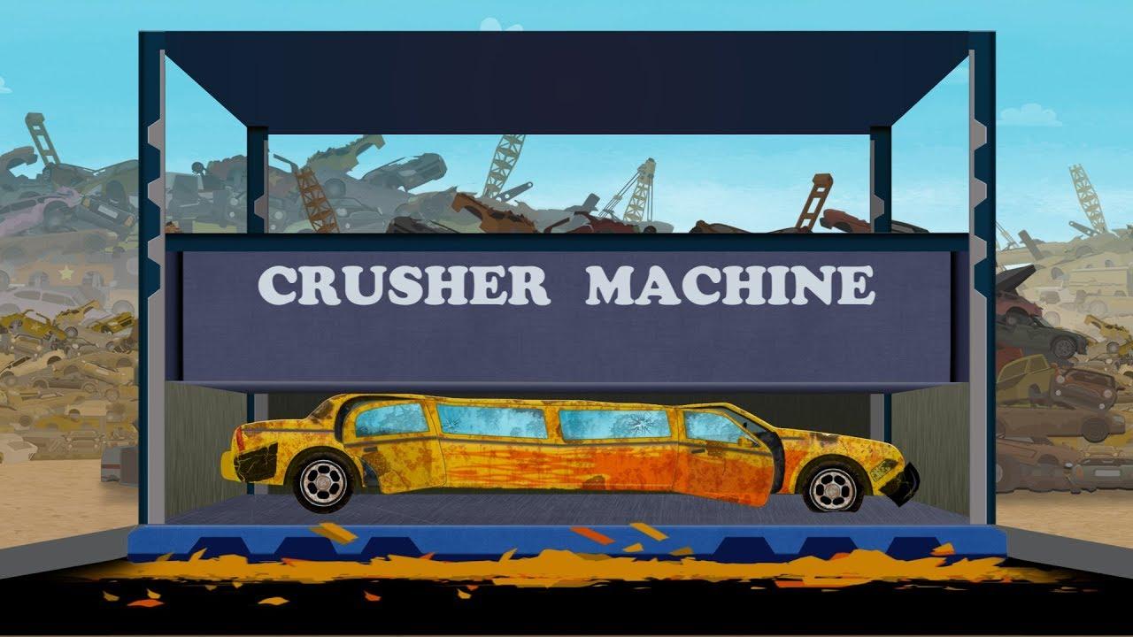 Kids Playtime Luxury Car Dump Yard Kids Car Cartoon Video