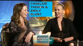 Charlize Theron, Emily Blunt, Exclusive Interview, Part2