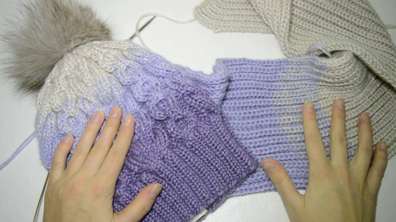 как связать шарф снуд узор для вязания аксессуаров вязание
