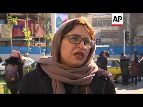 Tehran residents react to days of protest and unrest