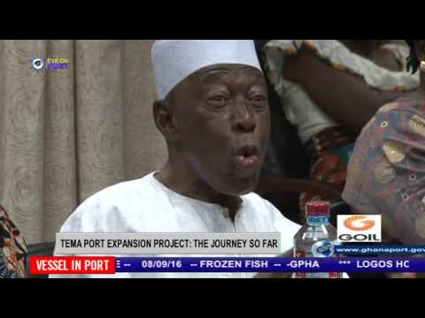 CHIEF EXECUTIVE OF MPS MOHAMMED SAMARA SPEAKS ON TEMA PORT EXPANSION PROJECT