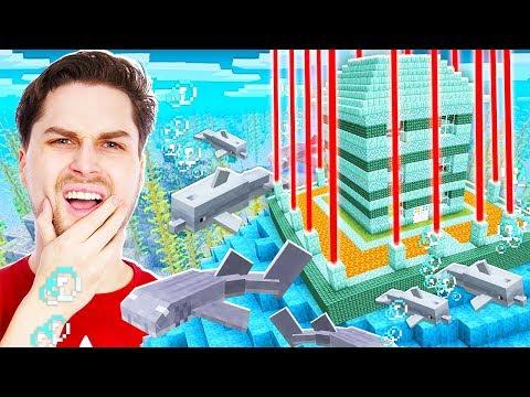 Ontsnappen Uit De Moeilijkste Onderwater Gevangenis In Minecraft! 😱