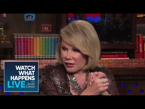 Joan Rivers Rates That Face! - WWHL