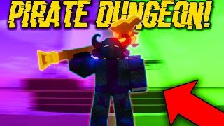 BEATING ALL THE HARDEST MODES IN PIRATE ISLAND! (ROBLOX DUNGEON QUEST)