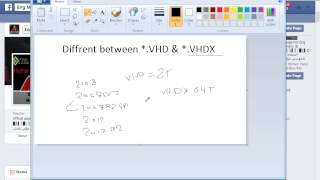 Diffrent Between VHD and VHDX and HyperV Recovery by Eng Mo'men Hany