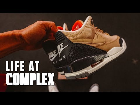 FIRST LOOKS AT JUSTIN TIMBERLAKE'S AIR JORDAN 3 COLLAB! | #LIFEATCOMPLEX