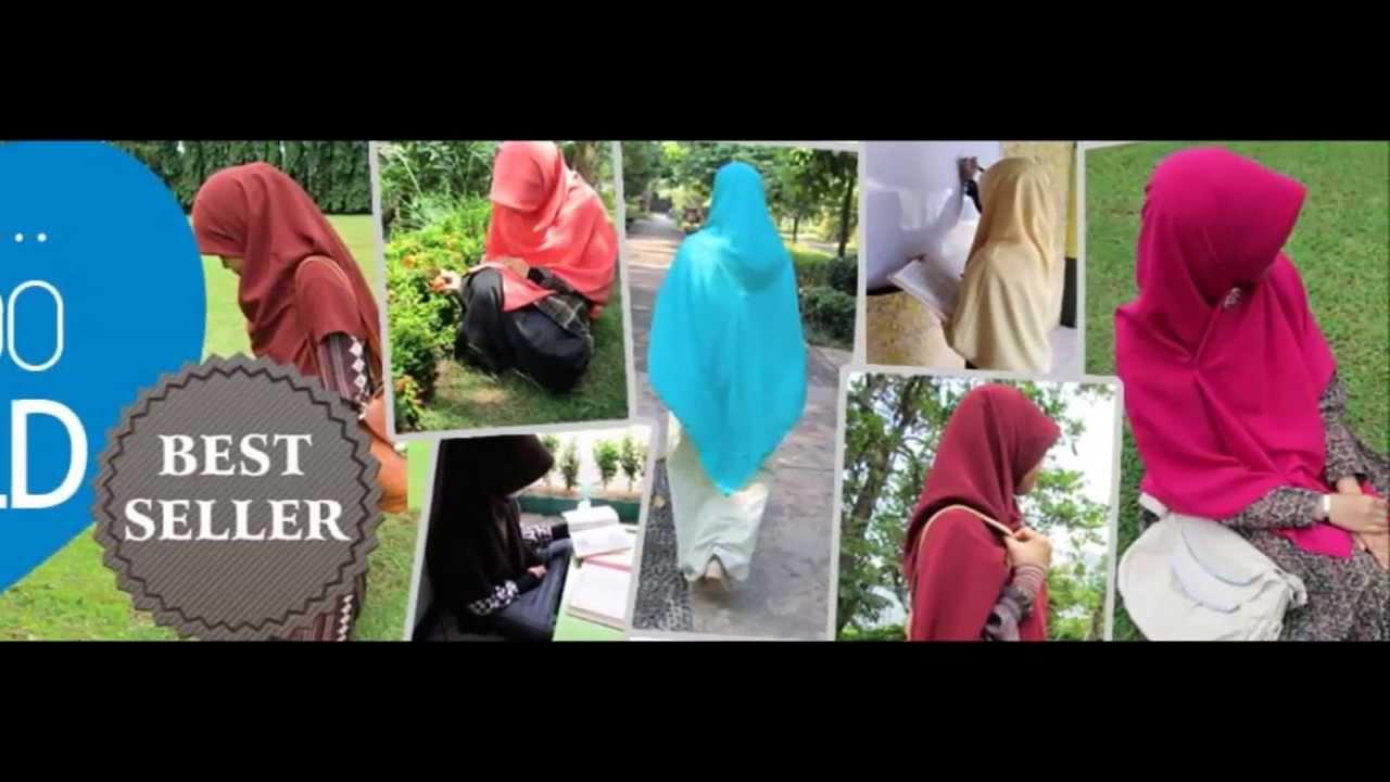 Jilbab Segi Empat Syari Murah YouTube