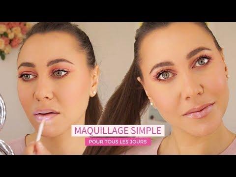 Comment fair un maquillage simple pour tous les jours ?