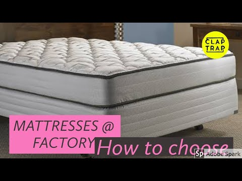 FACTORY MADE, SUITABLE MATTRESSES | QUALITY ASSURED