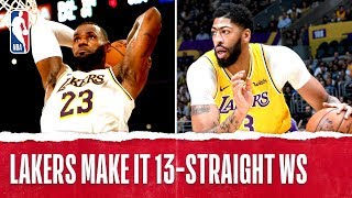 LakeShow Extend Road Streak To 13 Games!