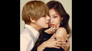 TAENNIE (Best photos of BTS Taehyung & BLACKPINK Jennie)