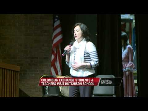 Colombian Exchange Students And Teachers Visit Hutchison School