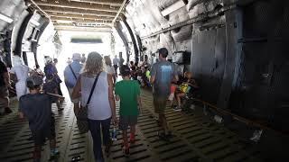 C-5 Super Galaxy walk around at Joint Base Andrews Air Show 2017