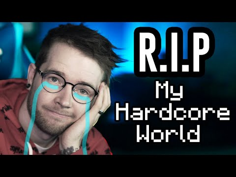 Saying Goodbye to My Minecraft Hardcore World.. - DanTDM