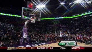 "2009 Slam Dunk Contest Highlights 720p HD - ""Krypto-Nate"" vs ""Superman"" - Jalen Rose Comments"