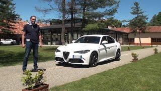 Заряженная Alfa Romeo Giulia: тест-драйв Автопанорама