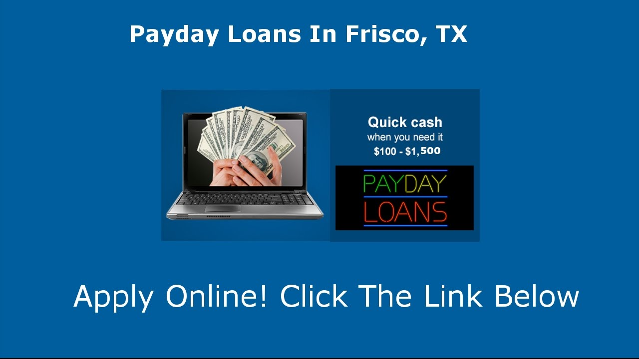 Payday Loans Fisco, TX
