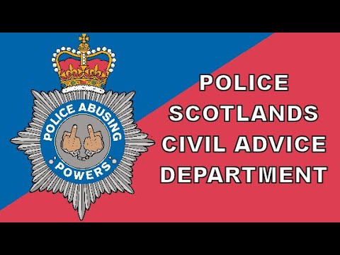 Police Scotland Now Giving Civil Advice