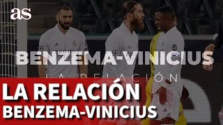 La relación Benzema-Vinicius, a examen: de la admiración a la crítica más salvaje | Diario AS