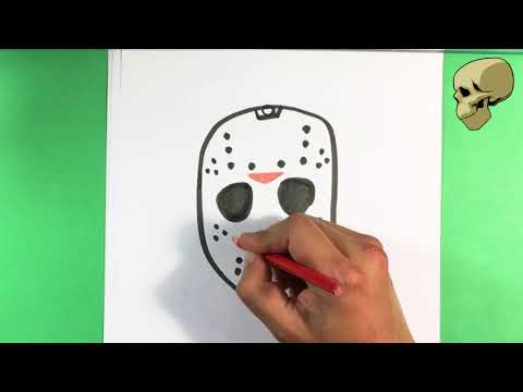 Halloween Jason Mask Cartoon.Access Youtube