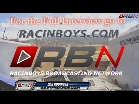 RacinBoys with GM of Lucas Oil Speedway Dan Robinson