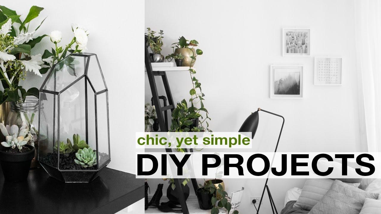 DIY Home + Room Decor | Pinterest Inspired - YouTube