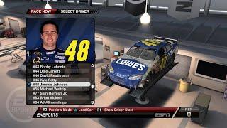 NASCAR 09 - Jimmie Johnson @ Atlanta