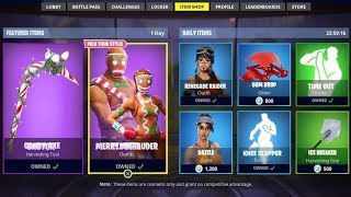 *SKIN COOKIE* NEW FORTNITE STORE TODAY (21-12-18)