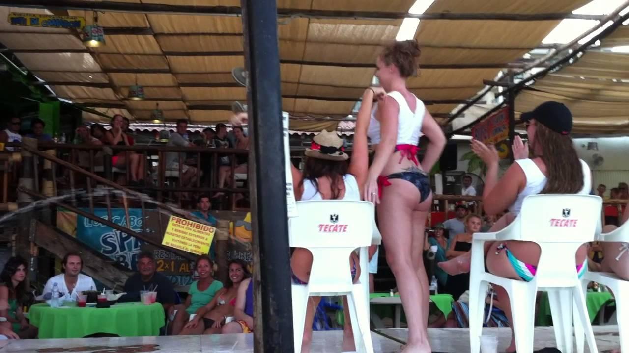 Wet tshirt contest mexico