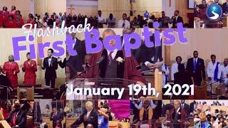Flashback First Baptist: January 19th, 2021