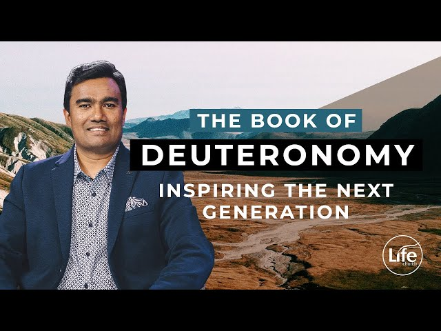 Deuteronomy 5 - Inspiring The Next Generation | Rev Paul Jeyachandran