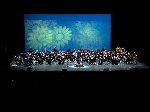 Banda Sinfónica de la Secretaría de Marina Armada de México en TrovArte