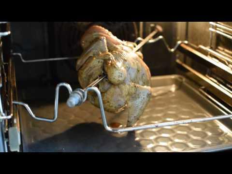Как приготовить курицу гриль в духовке с грилем без вертела