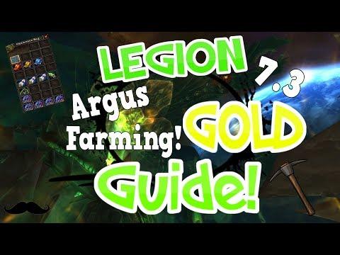 Legion - 900 - 1,300 Empyrium A Hour + Gems! Veiled Argunite Farm? - 7.3