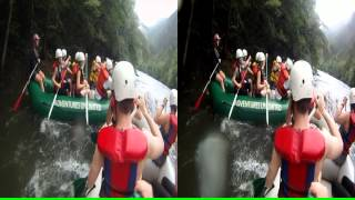 "3D Ocoee River Whitewater Rafting 20 ""Road Rage On The River"""