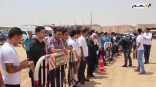 بالفيديو ..جنازة الدكتور أحمد زويل بإتجاه المقابر