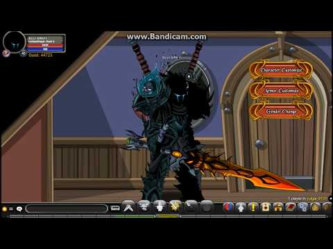 =AQW= How To Get Azure SpitFire Armor