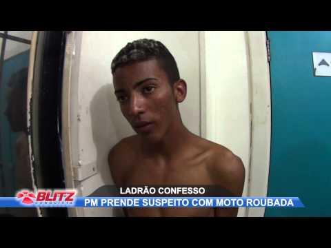 PM PRENDE LADRÃO CONFESSO
