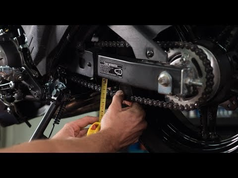 How To Check and Adjust Your Motorcycle Chain