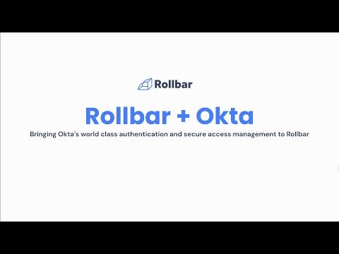 Rollbar Integrations: Okta