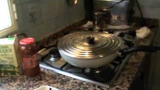 carrillada de cerdo en salsa de tomate