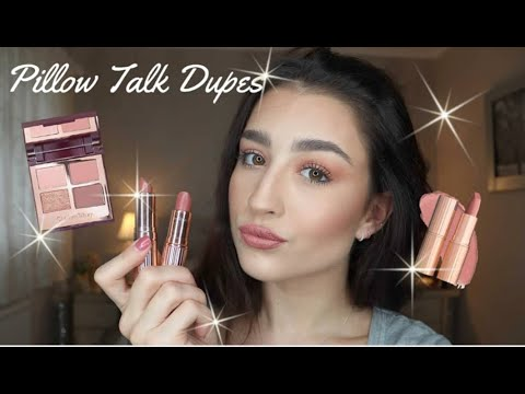 Charlotte Tilbury Pillow Talk Dupes Complete Collection