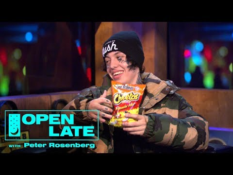 Lil Xan On Quitting Music & 2Pac + Dave East, Styles P, & Curren$y   Open Late with Peter Rosenberg