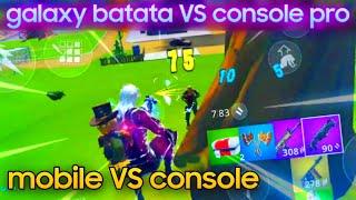 FORTNITE p/ ANDROID - console VS mobile