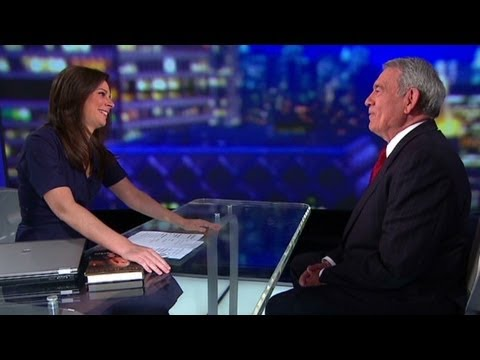 Dan Rather is CNN anchor Erin Burnett's crush